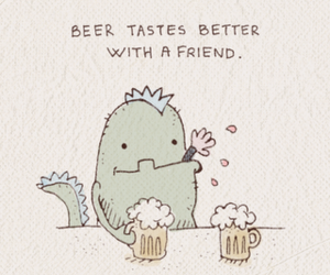 beer and friends image