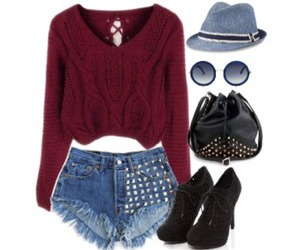 bootie, clothes, and fashion image