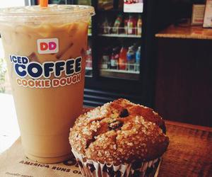 coffee, cookie, and dunkindonuts image