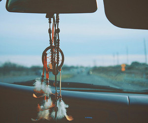car, Dream, and dreamcatcher image