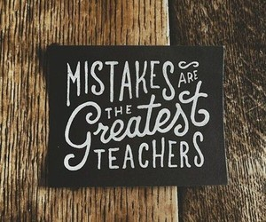 mistakes, quote, and teacher image