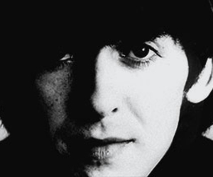 black and white, george harrison, and perfect image