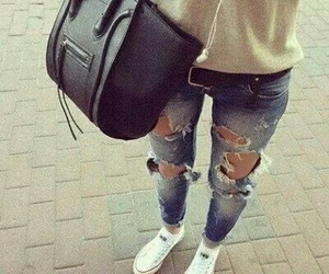 style, beautiful jeans, and need one heart image