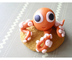 cookie, food, and octopus image
