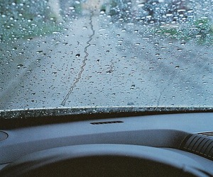 rain, car, and photography image