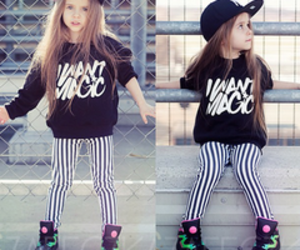 girl, swag, and baby image