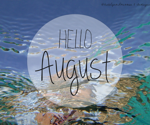 August and summer image
