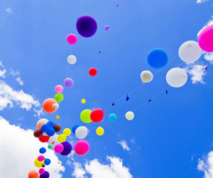sky and ballons image