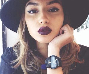 girl, fashion, and lips image