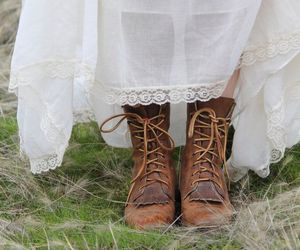 boots and dress image