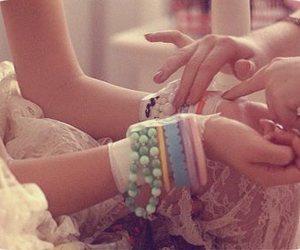 bracelets, hands, and the virgin suicides image