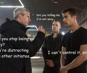 divergent, sexy, and four image