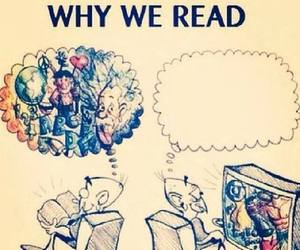 reading and think image