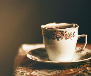vintage, coffee, and tea image