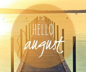 August, beach, and summer image