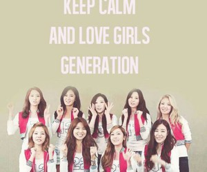 girls generation, keep calm, and snsd image