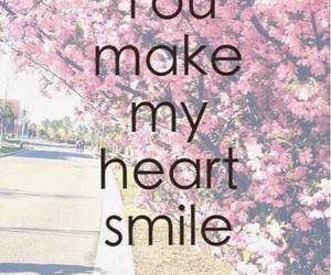 heart, love, and smile image