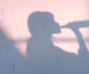shadow, pale, and pink image