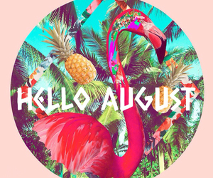 August, blue, and hello image