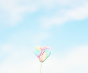 lollipop, food, and heart image