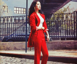 park shin hye and red image