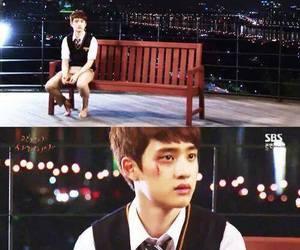 exo, kyungsoo, and its okay thats love image