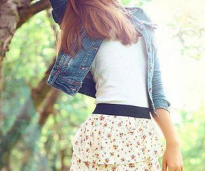 fashion, girl, and look image