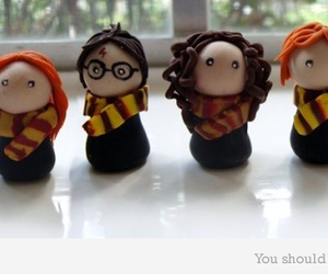 cookie, sweet, and harry potter image