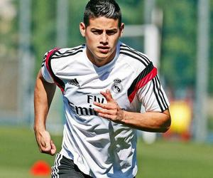 james, james rodriguez, and real madrid image