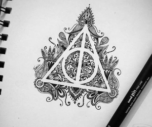 *-*, art, and harry potter image