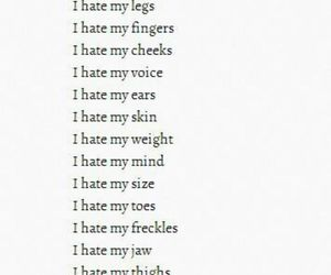 hate, life, and i image
