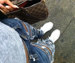 fashion, converse, and Louis Vuitton image