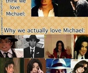 funny, king of pop, and michael jackson image