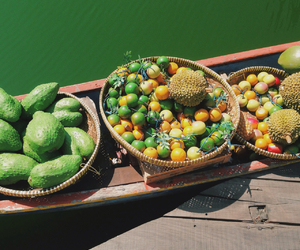 boat, diet, and durian image
