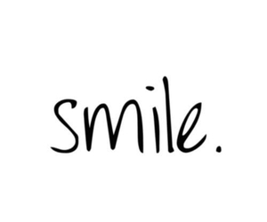 smile, happy, and life image