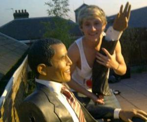niall horan, one direction, and obama image
