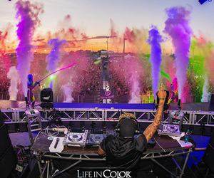 festival, rave, and life in color image