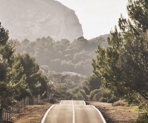 life, nature, and road image