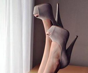 beautiful, heels, and pretty image