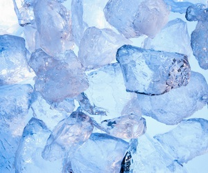 blue, cold, and ice image