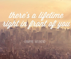 city, vampire weekend, and music image