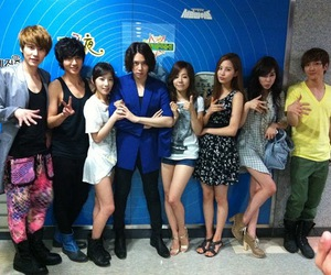 snsd, super junior, and heechul image