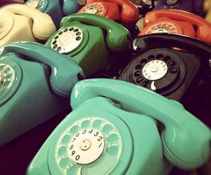 classic, telephone, and vintage image