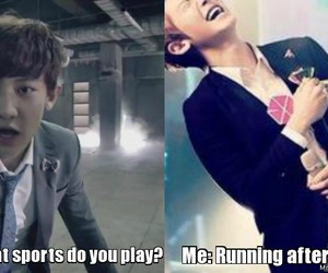 exo, funny, and sports image