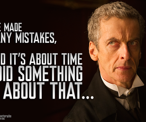 doctor who, peter capaldi, and 12thdoctor image