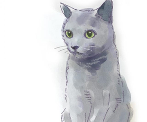 cats, dessin, and fashion image