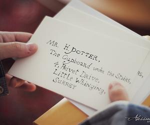 harry potter, Letter, and hogwarts image