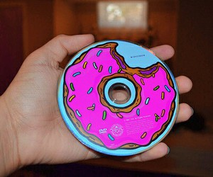 cd, photography, and donuts image