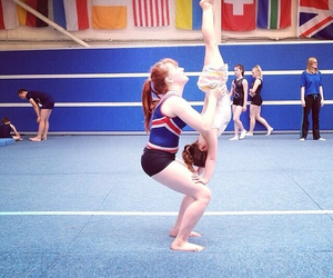 acrobatic, love, and cheer image