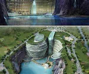cool, wow, and hotel image